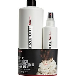 Paul Mitchell Freeze and Shine Super Spray Liter with 8.5 Oz. Spray (Mitchell Freeze Shine compare prices)