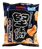 ★まとめ買い★ カルビー(株) 堅あげポテト うすしお味 65g ×12個