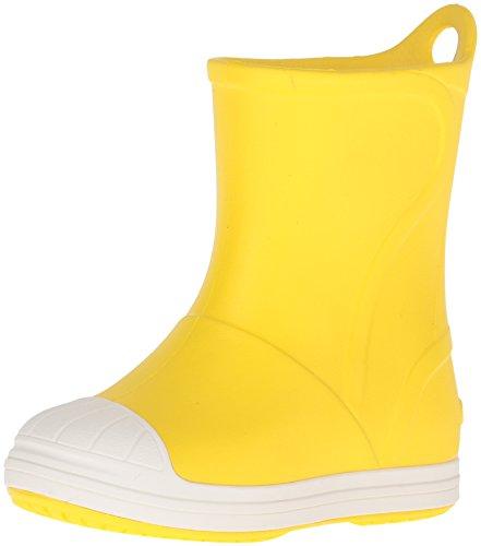 Crocs Bumpitbootk, Stivaletti Unisex - Bambini, Giallo (Yellow/Oyster), 27-28 EU