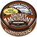 Smokey Mountain Snuff, 5 Cans - Straight - Tobacco Free, Nicotine Free 1oz