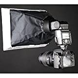 Interfit Photographic White Softbox for Shoe Mount Flashes, Flex Mount Not Included.