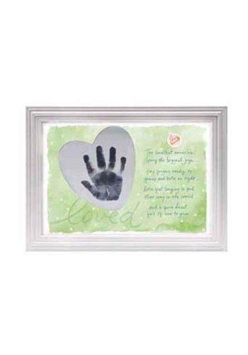 C.R. Gibson Precious Miracle Handprint Frame Kit - 1