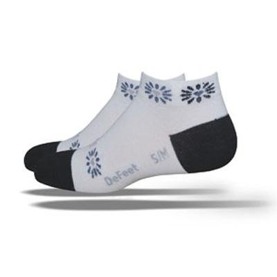 Image of DeFeet Women's Speede Heart Blossom Cycling/Running Socks (B003YF7OR0)