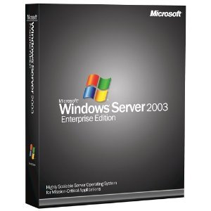 Microsoft Windows Server Enterprise 2003 With Service Pack (25 Client) [Old Version]