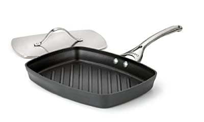 Calphalon Contemporary Nonstick Dishwasher Safe Panini Pan and Press