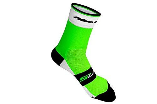 Massi Supra - Calcetines de ciclismo unisex, color verde, talla L 5.41€