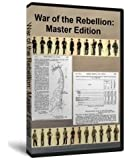 Master Edition: The War of the Rebellion a Compilation of the Official Records of the Union and Confederate Armies (Official Records of the Civil War) Two DVD Set