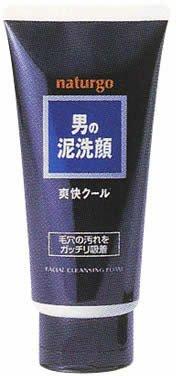 Naturgo Men's Clay Face Wash Refreshing (Black Label) 130g