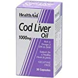 Health Aid - Cod Liver Oil - 30 X 1000Mg Vcaps