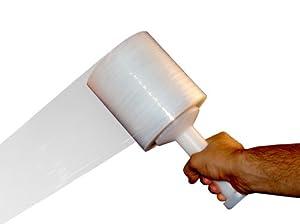 "Wrap 18 Rolls 3 "" 1000 Feet 80 Gauge : Stretch Film : Office Products"