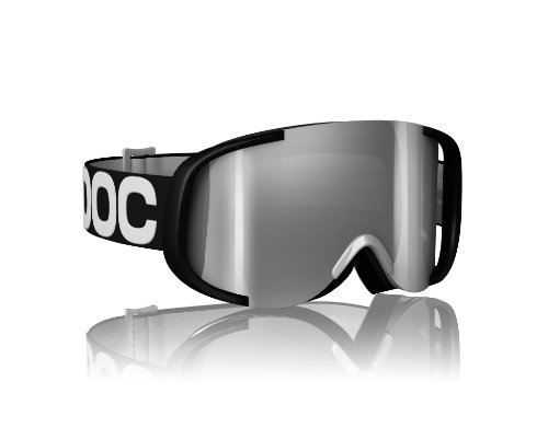 POC Skibrille Cornea Mirror, black/white, One size, 40073