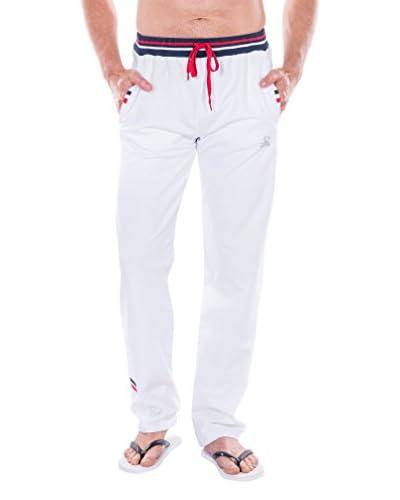 Giorgio Di Mare Pantalón de Pijama ZZZ Blanco