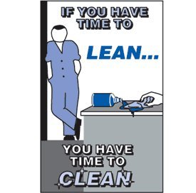Time To Clean Slogan Sign