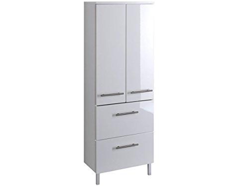 Midischrank-Seitenschrank-Hochschrank-Badezimmerschrank-Badschrank-wei-Small