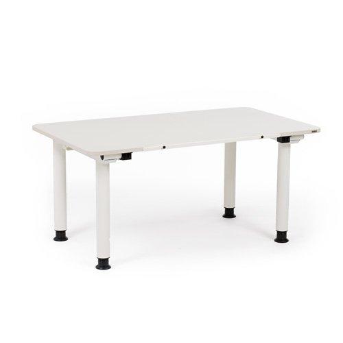 Bambini scrivania componibile-Basistisch ORGOO, colore bianco neve