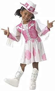 Child's Cowgirl Barbie Costume (Size:Medium 8-10)