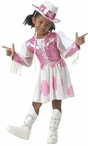 Child's Cowgirl Barbie Costume (Size:Medium 8-10)