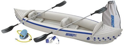Sea Eagle SE370 Inflatable Kayak with Deluxe Package