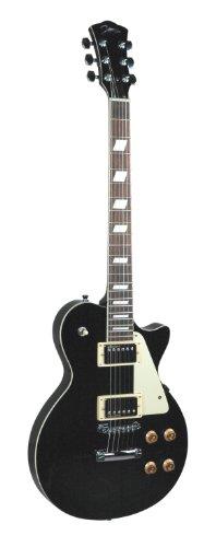Johnson Js-910-B Solara Classic Electric Guitar, Black