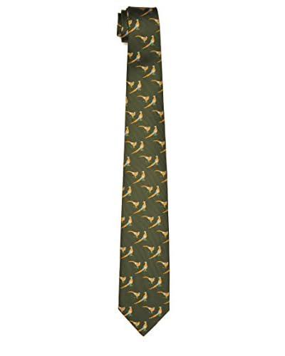 Beretta Corbata Silk Verde Oscuro