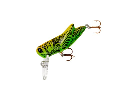 Rebel Crickhopper Fishing Lure - Green Grasshopper