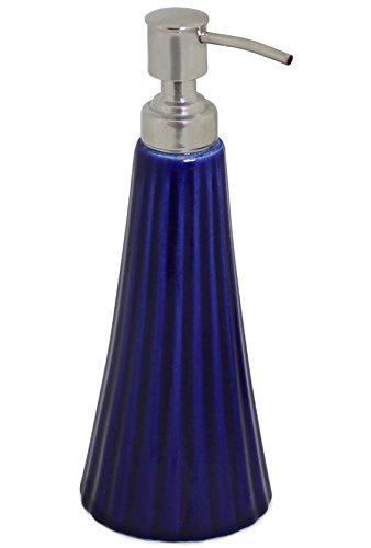 souvnear-216-cm-fait-a-la-main-ceramique-bleu-distributeur-de-savon-avec-pompe-de-poussee-facile-ave