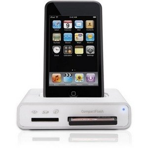 Griffin Simplifi Dock for iPod and iPhone, Media Card Reader, and USB Hub in One Device (Aluminum)
