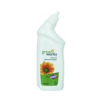 Green Works 00451 Toilet Bowl Cleaner Manual, 24 fl oz Bottle