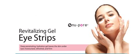Nu-Pore Anti-Wrinkle Gel Patch, Bulk Case Of 48