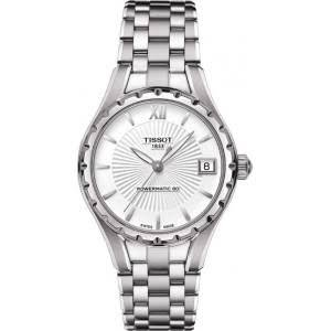 Tissot T-Lady Powermatic Automatic Silver Dial Stainless Steel Ladies Watch T0722071103800