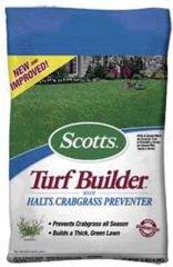 Scotts Super Turf Builder Lawn Fertilizer with HALTS Crabgrass Preventer - 14 lb. 3805
