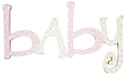 New Arrivals Baby Words, Pink