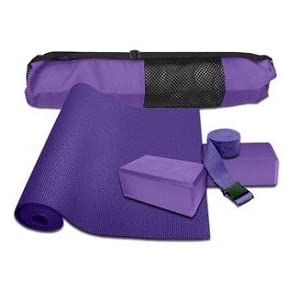 Yoga Accessories Starter Kit