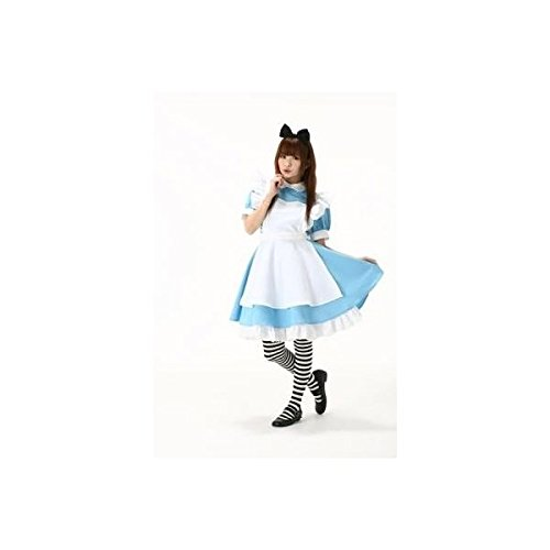 alice-cosplay-maid-apron-ribbon-katyusha-and-high-knee-socks-with-blue-costume-dress-fancy-dress-hal