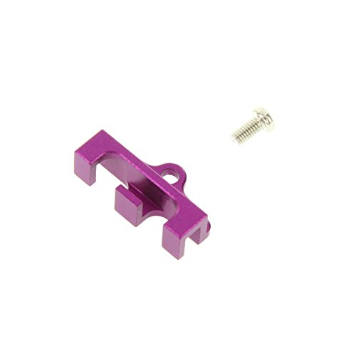GPM Racing Front Servo Wire Bunch for 1:10 Traxxas Revo, Purple