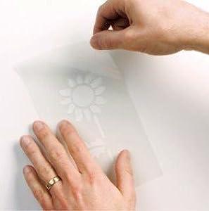 Small Sunflower Wall Stencil