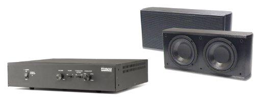 Pinnacle Speakers Slim Sub System Modular Subwoofer (Black)