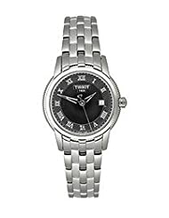 Tissot Women's T0312101105300 Ballade III Black Dial Watch