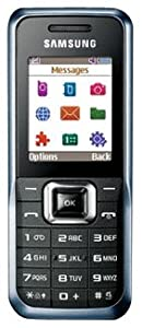 Samsung E2100 Téléphone portable EDGE Bleu