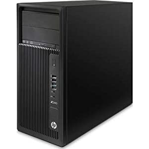 HP L9K20UT#ABA Z240 Tower Workstation i7-6700 3.4GHz 16GB ZTurbo 256G W7P64/W10