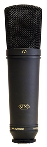 Mxl 2003A Large Gold Diaphragm Condenser Microphone With Shock Mount