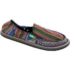 Sanuk Women's Donna Slip-On,Fiesta,8 M US