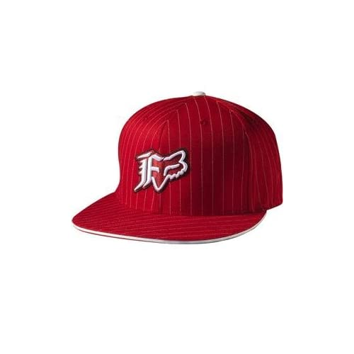 reputable site f81b0 da865 ... usa fox racing vip stripe flexfit hat large x large red 8ce52 4627c
