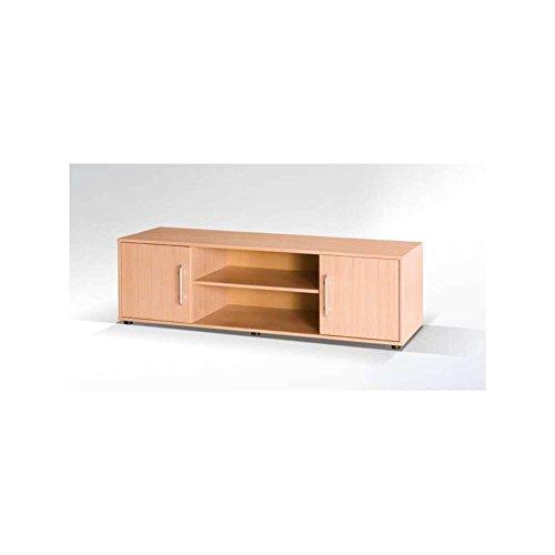 JUSThome-Maxion-MX-XXVI-Lowboard-TV-Board-Fernsehtisch-Buche-HxBxT-46x150x50-cm