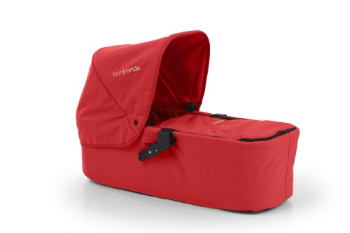 Bumbleride Indie Twin Carrycot, Cayenne Red (Discontinued by Manufacturer)