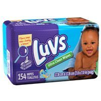 ULTRA CLEAN LUVS BABY WIPES 8/154