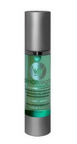 Princereigns Shaving Gel Used to Remove Ingrown Hair and Razor Bumps
