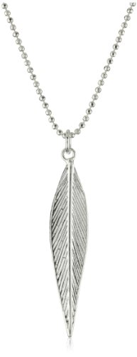 Sheila Fajl Silver-Plated Leaf Necklace