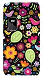 YOUNiiK Styling Skin Sticker Cover Nokia E7-00 - Flower Birds