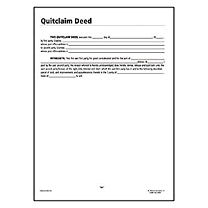 MICHIGAN CLAIM DEED QUIT